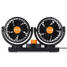 100 Electric Mini Truck 24V Car Fan Low Noise Summer Car Air Conditioner