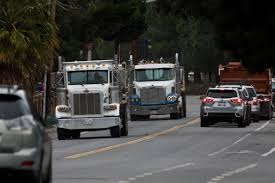 100 Stevens Truck Driving School County Tells Cupertino Quarry To Stop Hauling Rock On City Streets