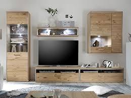 wohnwand anbauwand schrankwand tv wand mediawand wohnzimmerwand medina iii inklusive beleuchtung