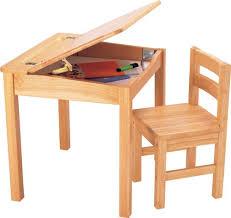 bureau en bois bureau et chaise bois naturel
