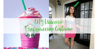 DIY Starbucks Unicorn Frappuccino Costume
