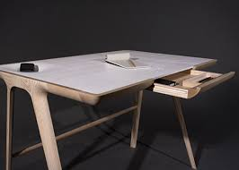 bureau bois design bureau design bois beautiful bureau design scandinave blanc et