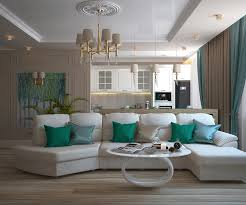 türkis farbe im wohnzimmer 6 ideen wie es verwenden kann