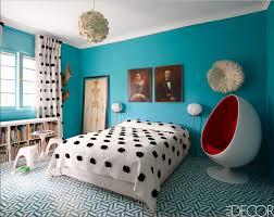 schöne sammlung blaue schlafzimmer interieur