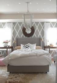 Interior Design Ideas Bedroom Fur Carpet Wall Mirror Decoration Pattern