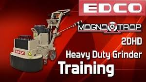 Edco Floor Grinder Polisher by Magna Trap Heavy Duty Floor Grinder Polisher Edco