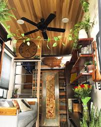 100 Tiny House On Wheels Interior My Indoor Jungle In My On 275sq Ft Of
