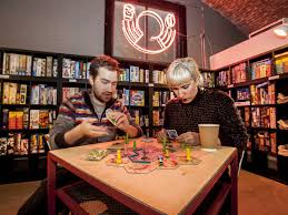 Board Games Are Booming Across Town From Big Versions In Parks And Little Ones Pubs To Classics Arcades Newbies Cafes Basically