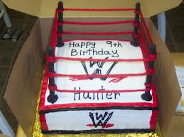 Wwe Raw Cake Decorations by Wwe Wrestling Ring Cake Cakecentral Com