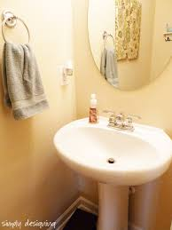 Toto Pedestal Sink Amazon by How To Install A New Bathroom Faucet In A Pedestal Sink Moendiyer