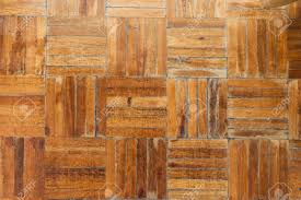 Rustic Wood Flooring Texture With A Parquet Pattern Stock Photo