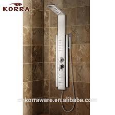 hotel einfaches badezimmer armaturen edelstahl duschpaneel billig gute qualität duschsäule buy edelstahl dusche panel einfache dusche
