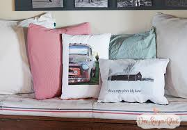 DIY Personalized Throw Pillows