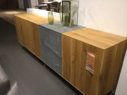 möbel anrei sideboard puro asteiche mit steineinlage ca 234 66 46 cm xxxlutz