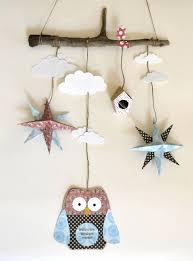 origami chambre bébé mobile hibou étoile origami chambre d enfant idées pour la