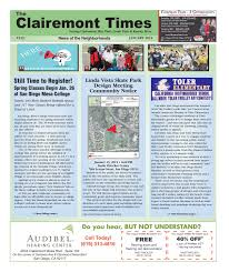 Christmas Tree Recycling Carmel Valley San Diego by Clairemont Times January 2015 By Clairemont Times Issuu
