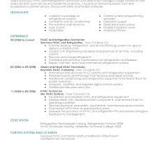 Hvac Project Engineer Resume Sample Technician Samples Templates
