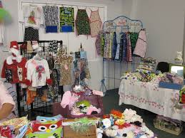 Clothing Vendor Display Booths