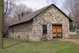 100 Fieldstone Houses FileMillRaceVillage3NorthvilleMichiganjpg Wikimedia Commons