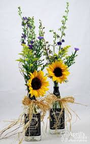 Sunflower Counrty Wedding Centerpieces Himisspuff Rustic