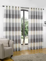 Blue Vertical Striped Curtains by Curtains Horizontal On Pinterest Images Grey Vertical Striped