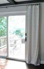 Sliding Door Curtain Ideas Pinterest by Glass Door Curtains U2013 Teawing Co