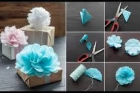 Paper Flower How To Instructions With Regard Make Handmade Flowers From Step