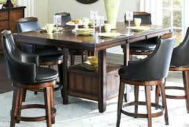 Rustic Bar Height Kitchen Table Gallery Of On S For Pub Prepare Dining Room Tables Home Pictures Interior