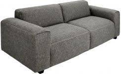 canape deux places tissu posada canapé 4 places en tissu gris noir habitat