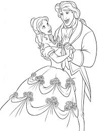 Beauty And The Beast Printable Coloring Pages Disney Getcoloringpages