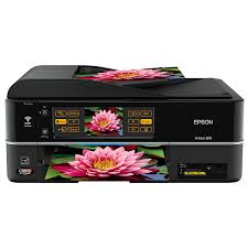 Amazon Epson Artisan 810 Wireless All In One Color Inkjet Printer Copier Scanner Fax C11CA52201 Multifunction Office Machines Electronics