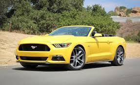 2015 Ford Mustang GT Convertible Manual Test – Review – Car and Driver