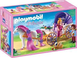 playmobil princess königspaar mit pferdekutsche 6856