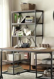 Funky Office Desks Computer Furniture Rustic Corner Desk With Shelves Nz