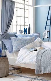 mit blautönen einrichten schöner wohnen schlafzimmer