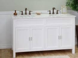 wondrous design 60 inch double sink vanity with quartz without top