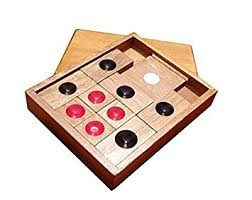 WISDOMTOY Classic Wooden Brain Teaser Slide Escape Maze Puzzle Board Game Educational Toy For Kids And