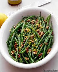 comment cuisiner les haricots verts haricots verts with pecans and lemon