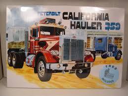 AMT Amt866 1/25 Peterbilt 359 California Hauler Conventional Plastic ...
