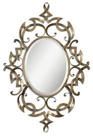 designer spiegel dekoideen mit glänzenden accessoires
