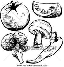 Stock Illustration Healthy Foods Fotosearch Search Clip Art Drawings Fine Art