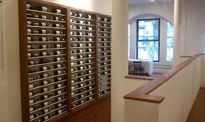 Contemporary Metal Wine Racks