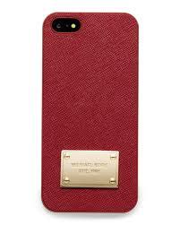 MICHAEL Michael Kors Saffiano iPhone 5 Cover
