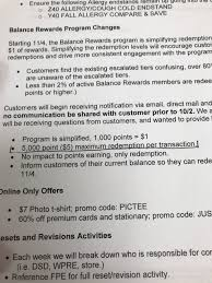 Walgreens Makes Major Balance Rewards Changes - Coupons In ... Scam Awareness Or Fraud Walgreens 25 Off 150 Rebate From Alcon Dailies Shipping Coupon Code Creme De La Mer Discount Photo Book Printable Coupons For Sales Coupons Ads September 10 16 2017 Modells In Store Whitening Strips Walgreens 2day Super Savings Pass Fake Catalina And Circulating Walgensstores Calendars Codes 5starhookah 2018 Free Toothpaste Toothbrush Coupon With Kayla