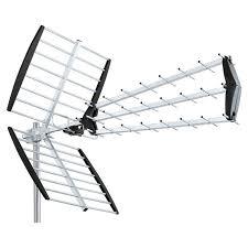 antenne uhf trinappe tnt hd dvb t tv exterieure antenne rateau