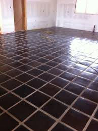 Saltillo Tile Sealer Exterior by Raw Saltillo Stained Brown So Pretty Floor Tile Pinterest