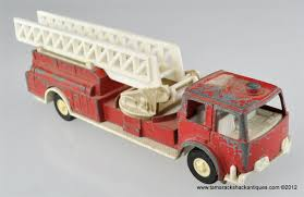 Fire 1970 Tootsie Toy Truck Vintage Tootsie Toy Fire Trucks Country Tazures Toys Pickup Trucks Lot 9 Vtg 1970s Diecast Plastic Jeep Uhaul Panel Otsietoy Red Hook And Ladder Truck Facing Front Right Otsietoy Aerial With Extension 1940s Tootsietoy 236 Lofty Antique Water Tower 1920s 4 Color Version Hubley Ladders From The 1930s For Sale Pending Prewar Tootsietoys Article By Clint Seeley