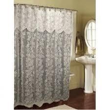 Battenburg Lace Curtains Ecru by Valance Lace Shower Curtain Foter