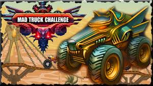 100 Mad Truck Challenge 3 Egypt Full Walkthrough Gold Cup Star YouTube