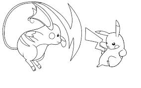 Full Image For Pokemon Pikachu Coloring Pages Online